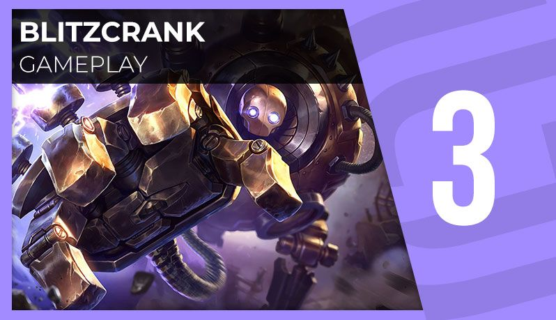 Blitzcrank : gameplay